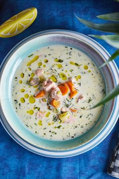Kapros citromos lazacleves | Street Kitchen Hungarian Recipes, Hungarian Food, Healthy Soup Recipes, Soups And Stews, Cake Recipes, Recipies, Food Porn, Food And Drink, Tasty