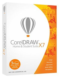 Corel CorelDRAW Home and Student Suite X7 (3-Users)