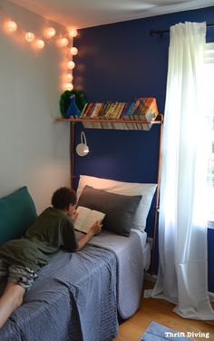 BEFORE & AFTER: Tween Boy Bedroom Makeover Reveal! : Thrift Diving Blog