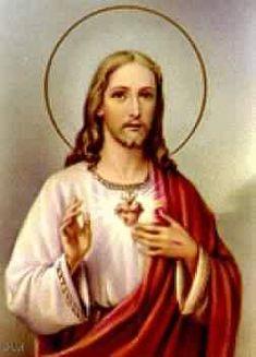 Sagrado Corazón de Jesús.... en Vos confío!!!