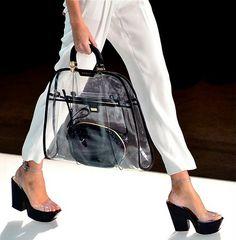 the transparent bag... by margo
