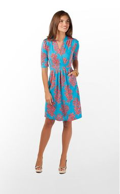 Cute dress by Lilly Pulitzer  Perfect spin on orange and blue for Gator games!