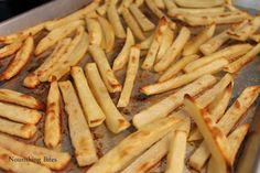 Nourishing Bites: Crispy Oven Baked Fries