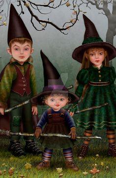 The Witch's Children by Maxinesimaginarium