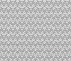 Pastel Potter - Dark Gray/Light Gray Deathly Hallows fabric by kritterstitches on Spoonflower - custom fabric