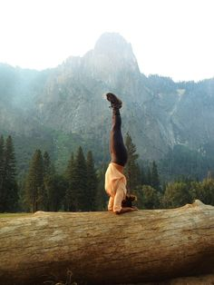 Headstands in the mountains? Yes please. Yoga and Wellness. Pure Alpine Spring Yoga & Wellness Retreat this November - http://www.bikramyogaprahran.com.au/retreats.html