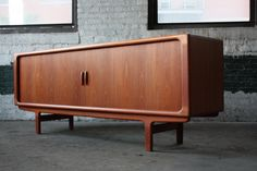 Titilating Danish Mid Century Modern Tambour Door Credenza (Denmark, 1960's) by Kinzco, via Flickr