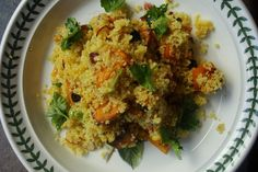 Honey Roasted Pumpkin and Couscous Salad