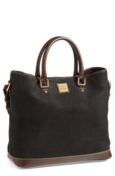 nubuck tote - Dooney and Bourke