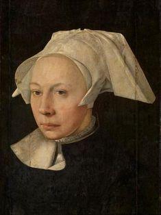 Portret van een vrouw - Jan van Scorel