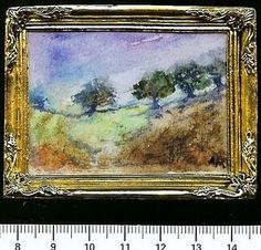 lovely miniature painting