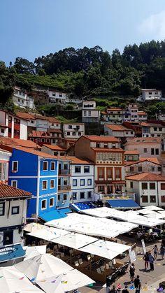 Pueblos costeros de Asturias cerca de Gijón | Caracol Viajero Asturias Spain, World Photo, Malaga, Travel Around, Beautiful World, Places To Go, River, Mansions, House Styles
