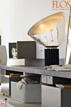 Taccia Led table lamp by Flos on LOVEThESIGN LED lamps