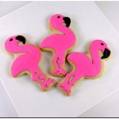 flamingo cookies!