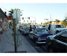 Every Thursday night the Uptown District of Lake Havasu City, Arizona comes to life with the sights and sounds of American car culture.Enjoy Cruisin' Specials and live music at nearby restaurants. Main Street Merchants are open late too!