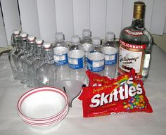 Infusing vodka with Skittles is a very popular trend right now. There are a couple of different ways to do it. My way involves...