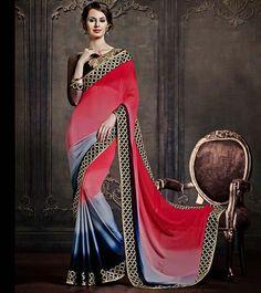 Naksh - Shaded Affair Saree