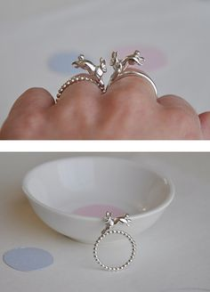 hopping rabbit ring