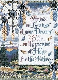 Arise on the Wings of your Dreams Cross Stitch Kit 9873-DW