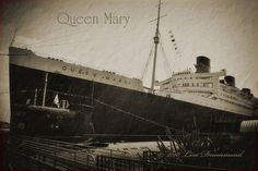 Queen Mary sets sail in 1934