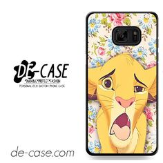 Simba Making Face DEAL-9603 Samsung Phonecase Cover For Samsung Galaxy Note 7