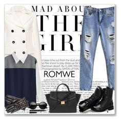 """Romwe 1"" by emina-turic ❤ liked on Polyvore featuring Kershaw, Marni, Valentino, Sunsteps, Forever 21 and Marc Jacobs"