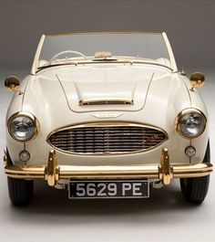 Classic and seriously cool 1958 Austin Healey