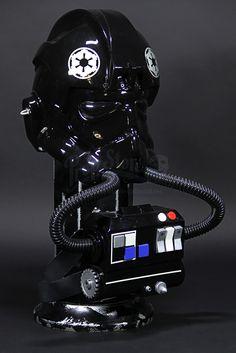 Star Wars - Don Post Deluxe TIE Pilot Helmet