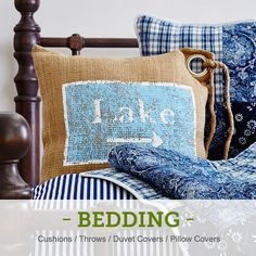 Brunelli Bedding, Quilts and Duvet Covers. Country Cupboard, House Quilts, Bed And Breakfast, Bedding Sets, Pillow Covers, Reusable Tote Bags, Cushions, Throw Pillows, Blanket