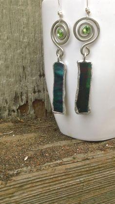 Eco friendly earrings
