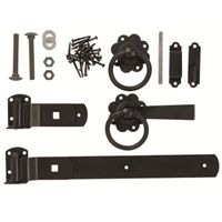 Gate latch & fixings, ideally suited for the Paloma, Dome & Hampton gate ranges - FREE delivery* and low web prices - See our site or call 0333 003 0518 Gate Latch, Cottage Style, The Hamptons, Fencing, Black, Garden, Chalet Style, Fences, Garten