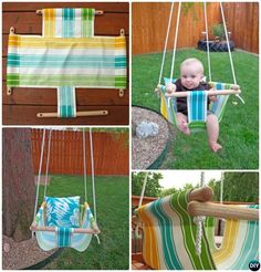 Turn your creative powers to the outdoors this summer by putting a swing in your…