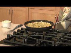 Easy Mushroom and Cheese Frittata