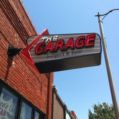The Garage in Norman!