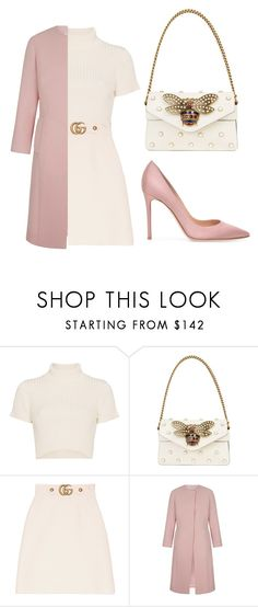 """cuteaf"" by lizzox ❤ liked on Polyvore featuring Staud, Gucci, cute and gucci"