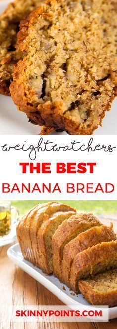 The Best Banana Bread Weight Six watchers SmartPoints 6