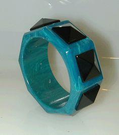 Authentic Bakelite Jewelry designed by Jorge Caicedo Montes de Oca .