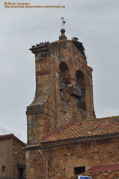 Garray. Campanario de la Iglesia de San Juan Bautista
