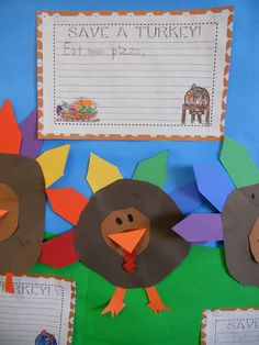 Teacher Bits and Bobs: Thanksgiving Art, a couple freebies, and a CUTEY CUTE Holiday Craft!!