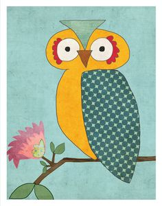 owl by Lily Cole Designs