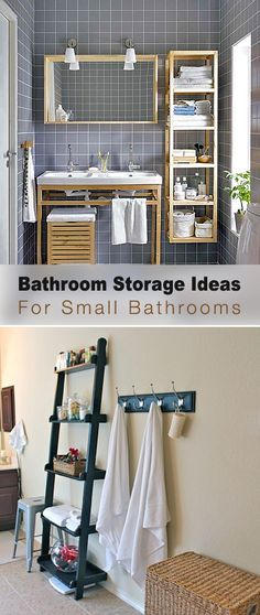 Bathroom Storage Ideas For Small Bathrooms • Tips & Ideas!