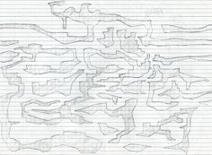 Draft level design on squared paper by Peter McClory (Peter McClory, 2014)
