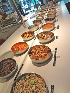 Frozen Yogurt Toppings Bar - toppings ideas for your froyo