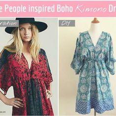 Kimono Dress Tutorial Free