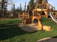 Kindergarten,playhouse,natur playground,Czech Republik/Jiřikov