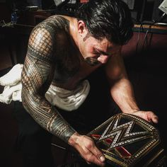 Way To Go Roman. Whether You Are Joe/Roman Reigns/The Guy You Deserve To Be At The Top For A LONG Time. #BelieveThat