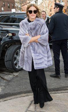 Olivia Palermo's Style at Fashion Week Fall 2015 | POPSUGAR Fashion