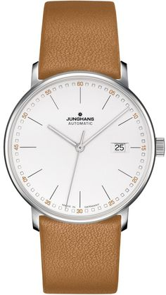 @junghansgermany Watch Form A Pre-Order #add-content #basel-17 #bezel-fixed #brand-junghans #case-depth-9-5mm #case-material-steel #case-width-39-1mm #date-yes #delivery-timescale-call-us #dial-colour-silver #gender-mens #limited-code #luxury #missing-sup