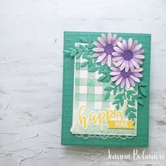 Go Create, Circle Punch, Business Pages, My Stamp, Embossing Folder, Tgif, Facebook Sign Up, Happy Friday, Mardi Gras