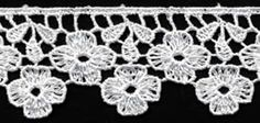 Venise Lace, 1+5/8 inch | Item #: LV-151326 at Cheeptrims.com - Quality wholesale lace, trim, appliques, ribbon, cord, ric rac and much more.